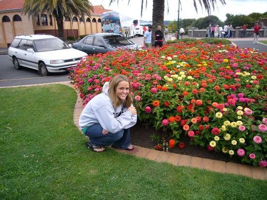 Beautiful Flower Garden in Rotorua
