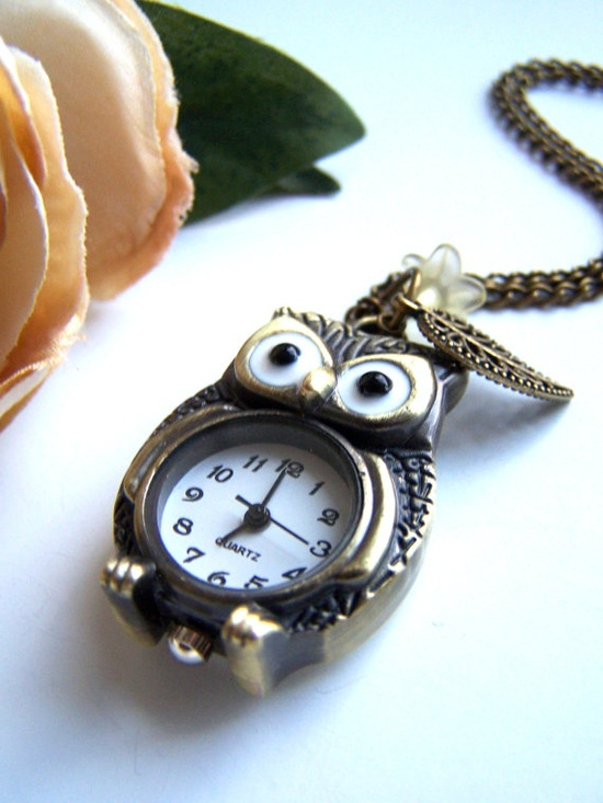 I love owls...And watches...And pewter.