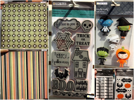 TPC Studio Halloween stuff.