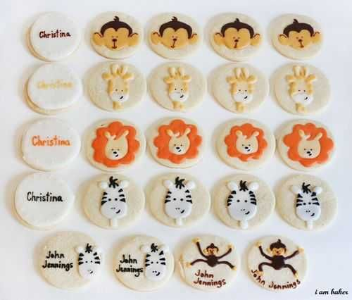 Cute Baby Animal Cookies