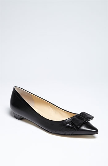 Great shoe - love the nude colour with a black pencil skirt.....Ivanka Trump 'Abello' Flat (Nordstrom Exclusive)