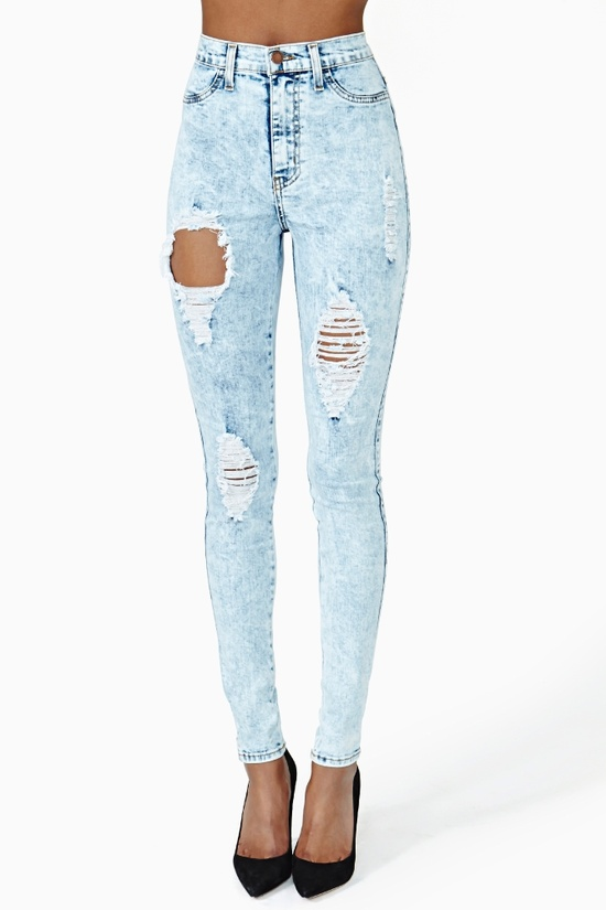 Search And Destroy Skinny Jeans in Clothes Bottoms at Nasty Gal