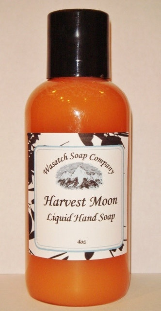 Harvest Moon Handmade Liquid Soap LIMITED EDITION - Harvest Moon is a fig and cranberry scent with nuances of clove, pepper and hints of fall flowers. The smell is absolutely divine...sure to be a favorite.