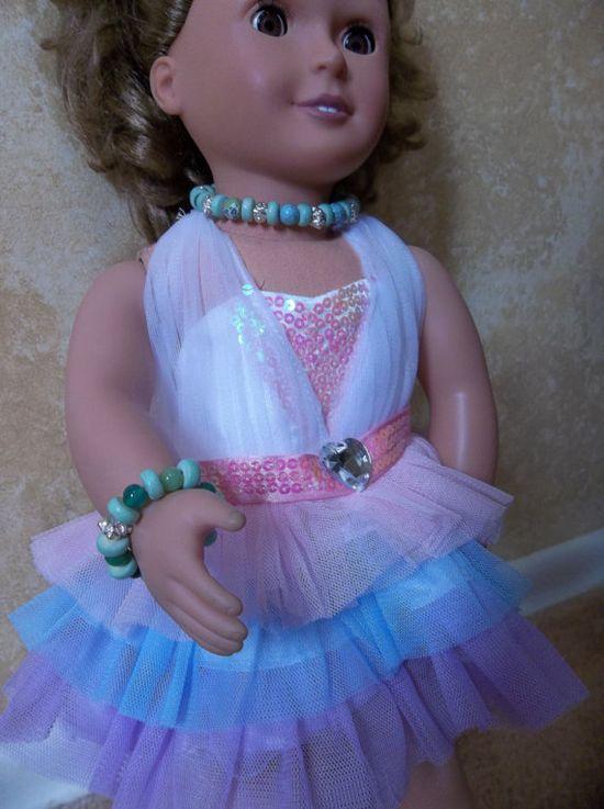 Handmade American Girl Doll Jewelry Set by CreationsByJanetUSA, $5.00