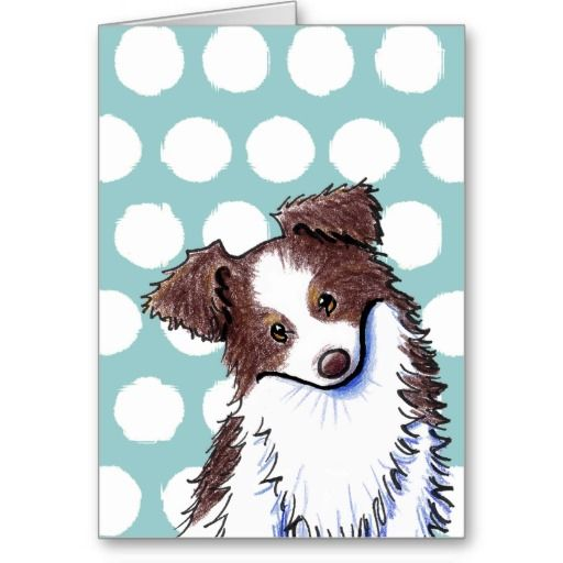 Australian Shepherd Greeting Cards   Click on photo to purchase. Check out all current coupon offers and save! www.zazzle.com/...