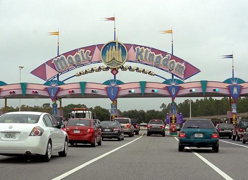 Magic Kingdom. Orlando. Florida.