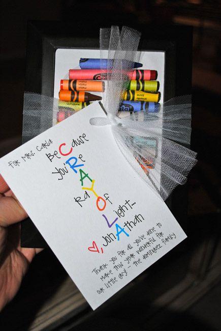 What a cute teacher gift!