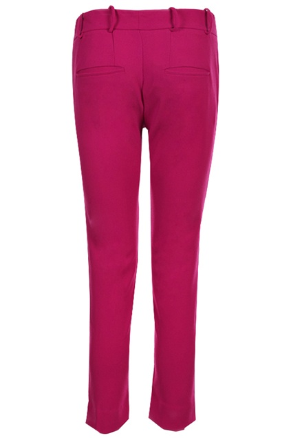 #Romwe Solid Color Rose Pants