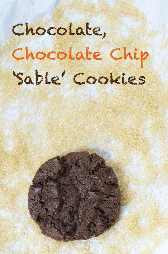 Chocolate, Chocolate Chip 'Sable' #health care #better health naturally #organic health #health guide