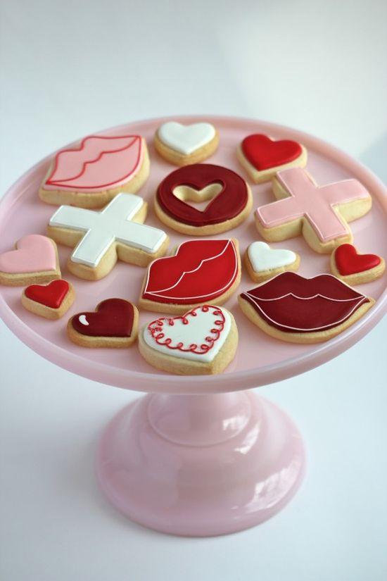 Simple Valentine Cookies