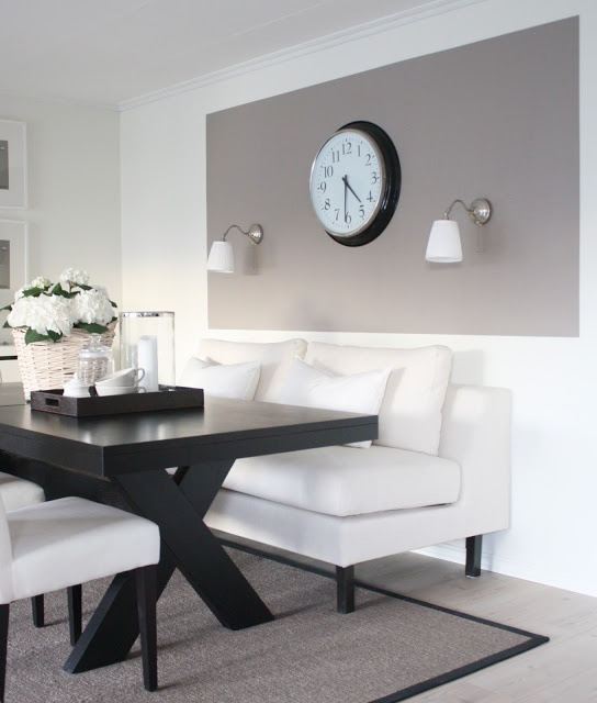 gorgeous contemporary dining area