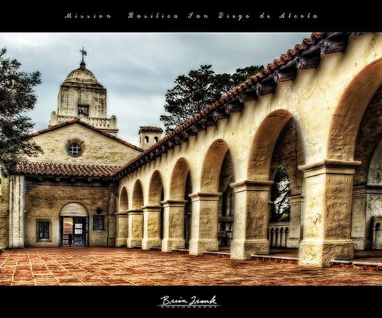 Mission San Diego de Alcala / Old Town / San Diego / CA / USA
