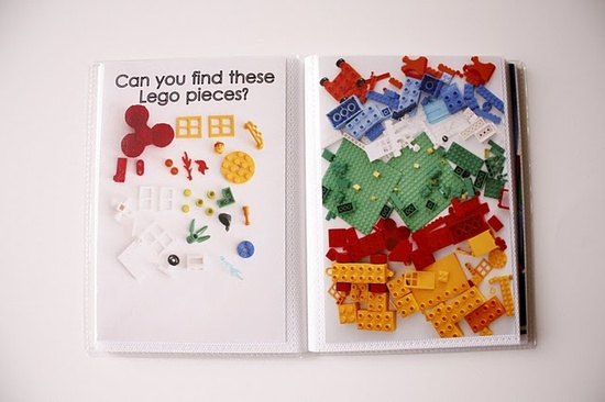 "DIY ""I Spy"" Books #DIY"