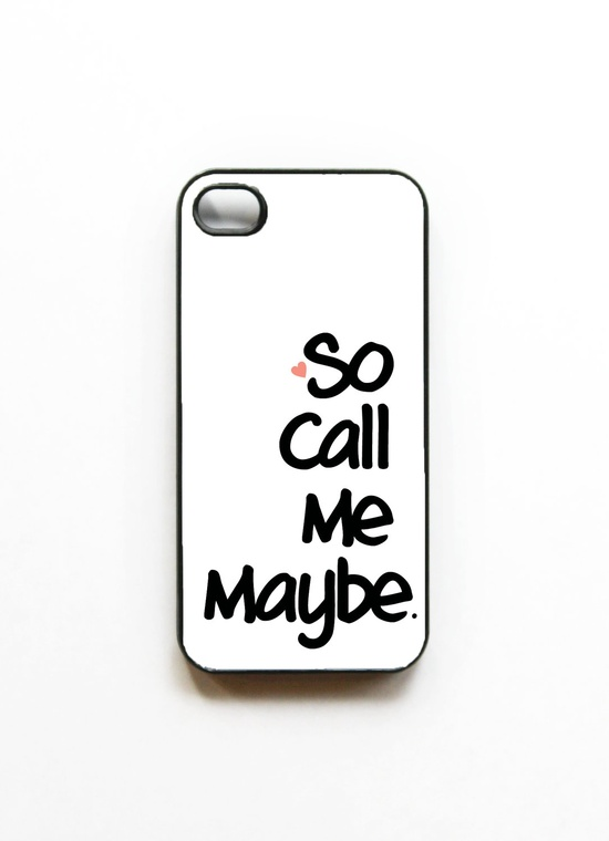 Call Me Maybe Iphone 4 case