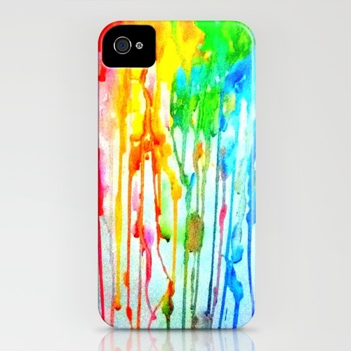 Colours of life iPhone Case