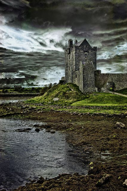 Danguaire Castle, Kinvara, Ireland #castle