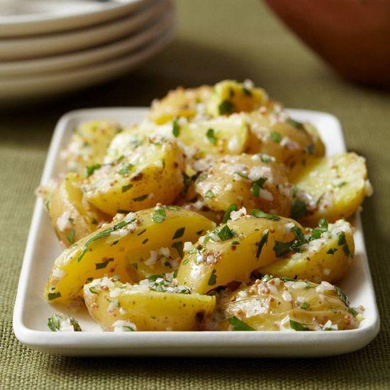 Yukon Golds with Shallot Butter // More Great Potato Recipes: www.foodandwine.c... #foodandwine