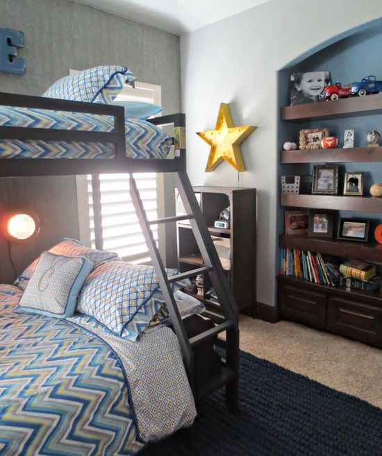 Cool design for a shared boys' room