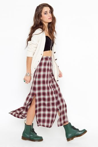 ? the skirt and boots