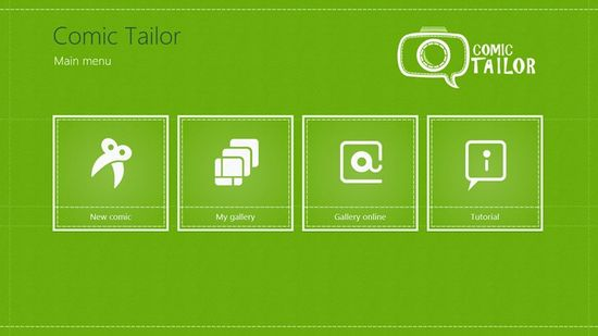 Comic Tailor // This is Comic Tailor - an application that allows you to create unique, funny comics and lets you share them with your friends. It's user-friendly and most of all - it's free!