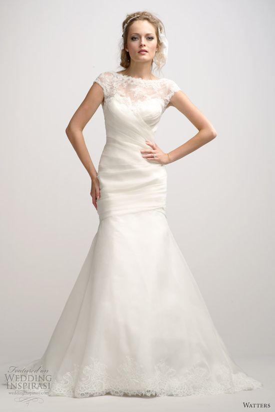 Watters Brides Fall 2012 Wedding Dresses