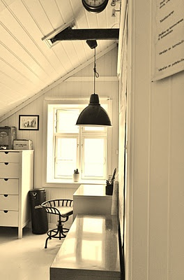 Eventual room in attic space.