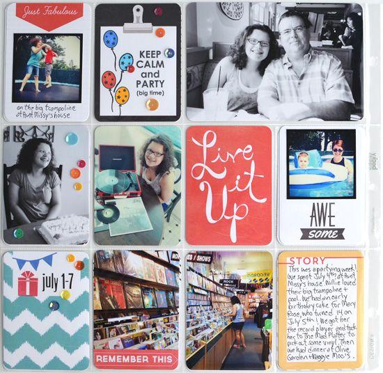 Project Life Week 27 (2013) - Scrapbook.com