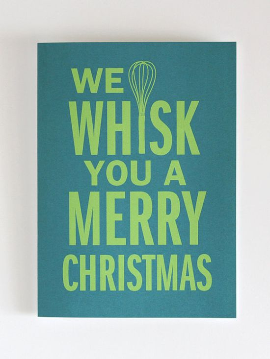 we whisk you a merry christmas card