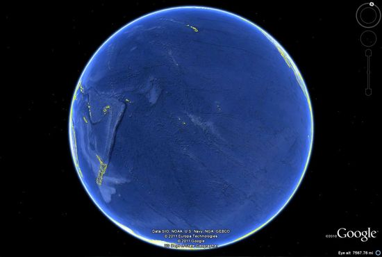 The Pacific Ocean cc @Janette Kim