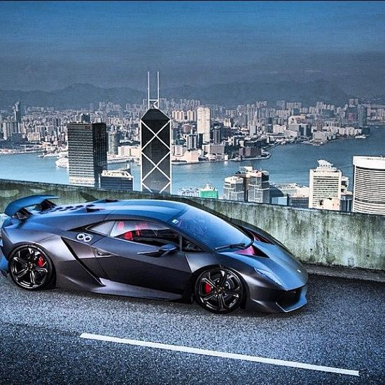 Lamborghini Embolardo overlooking its territory
