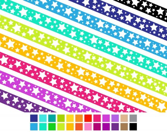 Crazy Star Ribbons - Luvly Marketplace