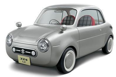 Suzuki retro micro car LC -