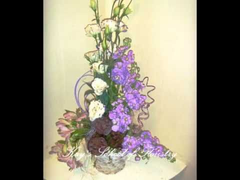 Flower Arranging Courses - YouTube