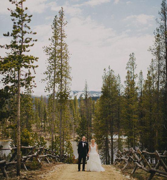Gorgeous rustic wedding in Colorado