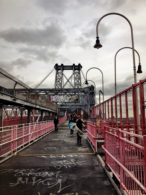 Walking to Brooklyn - After Sandy - New York City, via Flickr.