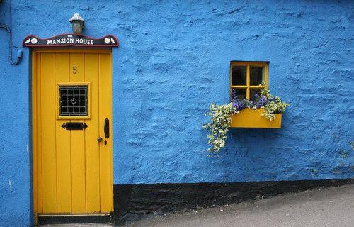 azul e amarelo, lindo!