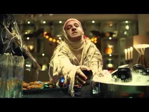 "Funny Ad Video ""Halloween Magic"" Carling Commercials"