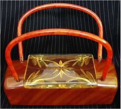 cool lucite purse