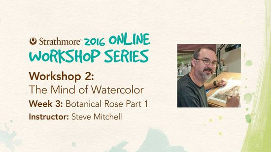 Free Workshop with Steve of The Mind of Watercolour