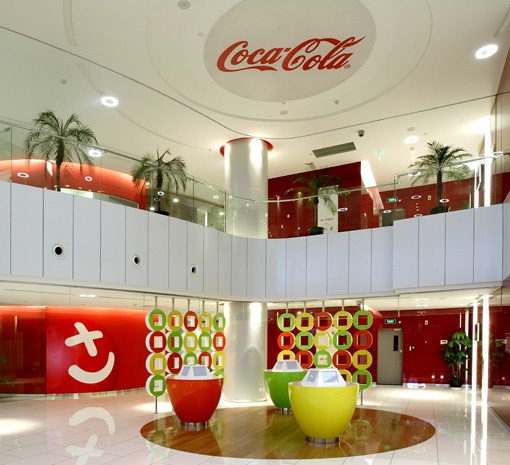 Coca-Cola office design