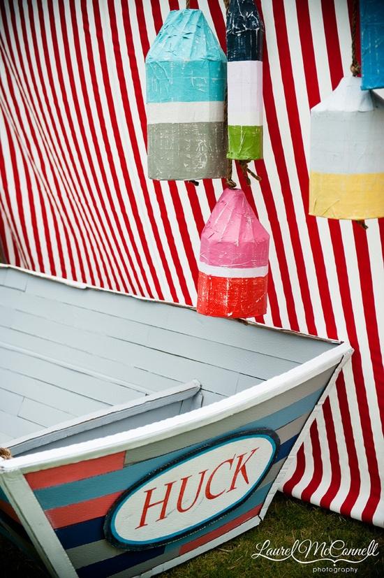 nautical party decor - @Matthew Addonizio parker - I was fortunate enough to assist him!