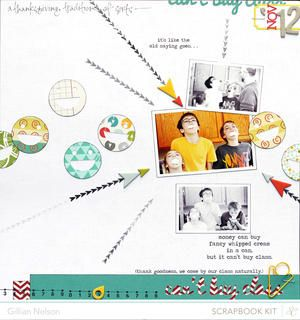 can't buy class (main kit only) by just g at Studio Calico using the Block Party scrapbook kit and add ons