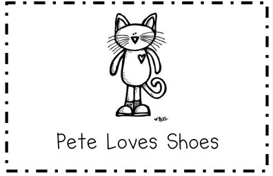 Free Pete the Cat emergent reader