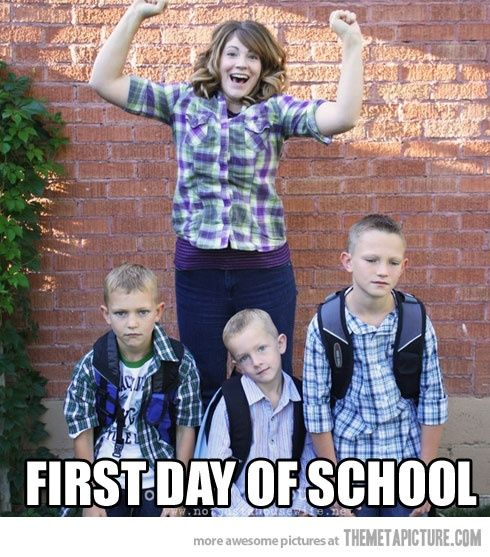 First day back. #gags #funny photos #funny story