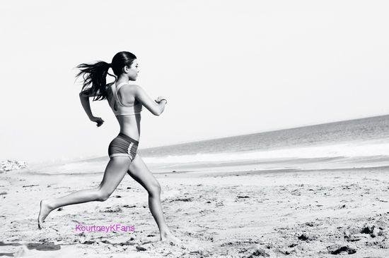 Kourtney Kardashian. Fitness inspiration