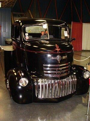 !947 GMC COE CUSTOM CAR HAULER!