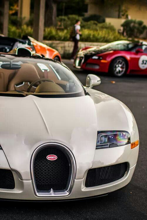 Exquisite Bugatti Veyron