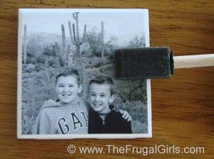 Photo Coasters Craft