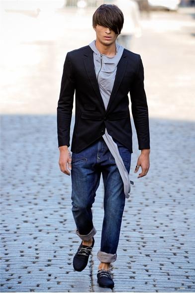 Buckler by Andrew Buckler - Men Fashion Spring Summer 2012 - Shows - Vogue.it
