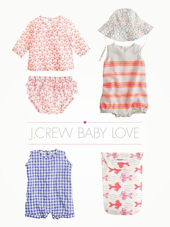 J.Crew Baby. I want all of it for Baby Girl.